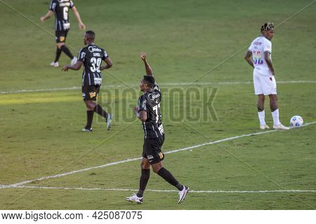 Rio, Brazil - June 27, 2021: Jo Player Celebrate In Match Between Fluminense Vs Corinthians By 7st R