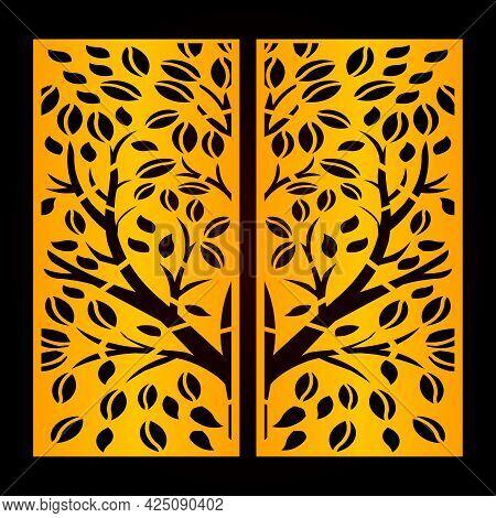 Laser & Cnc Cut Islamic Pattern Design Template
