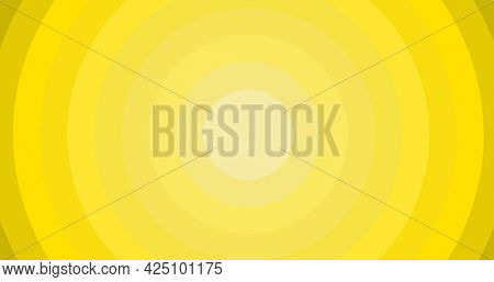 Composition of multiple yellow circles with copy space background. colour and writing space concept digitally generated image.