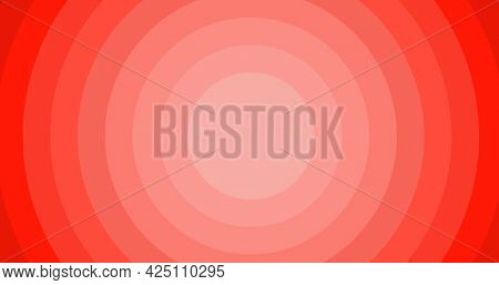 Composition of multiple red circles with copy space background. colour and writing space concept digitally generated image.