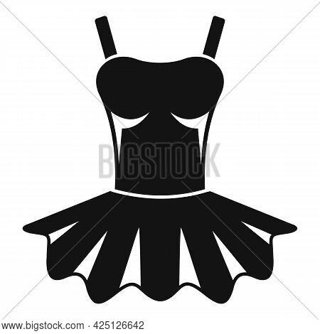Ballerina Clothes Icon Simple Vector. Ballet Baby. Dance Princess Dress
