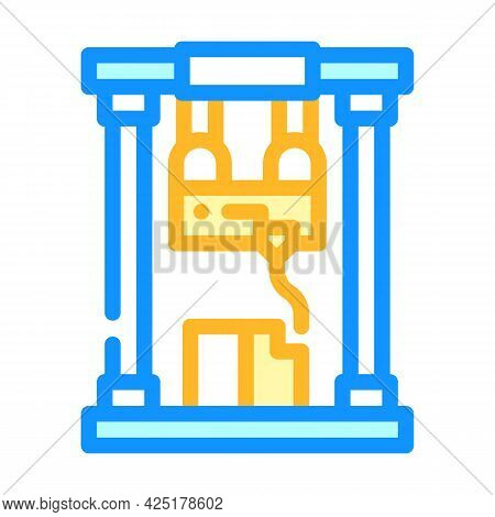 First Sample Production Color Icon Vector. First Sample Production Sign. Isolated Symbol Illustratio