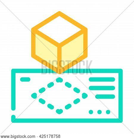 Creating Templates Color Icon Vector. Creating Templates Sign. Isolated Symbol Illustration