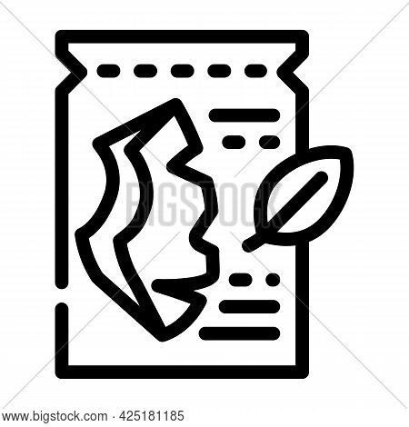 Sheet Mask Line Icon Vector. Sheet Mask Sign. Isolated Contour Symbol Black Illustration
