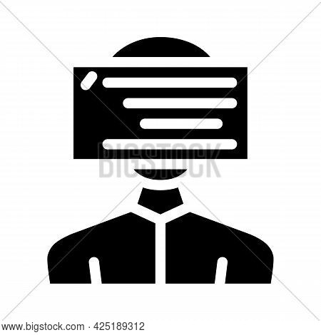 Client Programming Kyc Glyph Icon Vector. Client Programming Kyc Sign. Isolated Contour Symbol Black