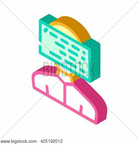 Client Programming Kyc Isometric Icon Vector. Client Programming Kyc Sign. Isolated Symbol Illustrat