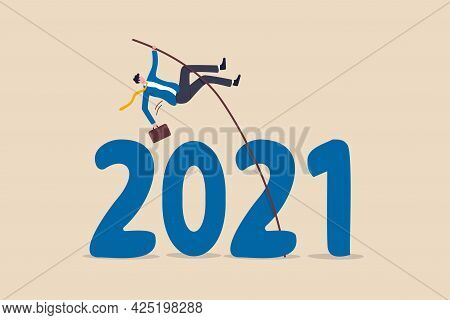 Overcome Obstacle Or Solve Business Problem To Pass Hard Time Year 2021, Pandemic Causing Economic R