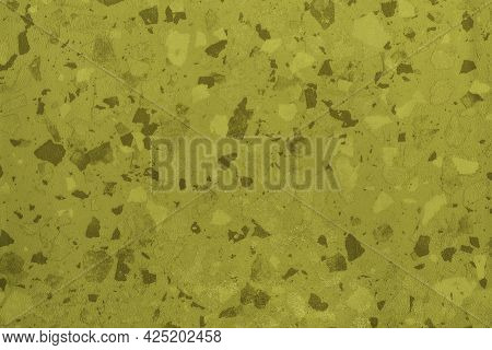 Golden Glimmering Wall Background With Gold Marbling Texture