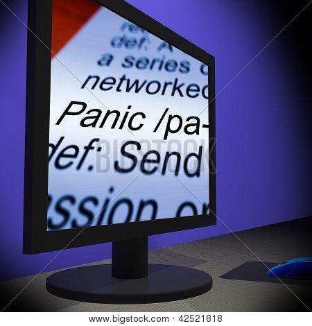 Panic On Monitor Shows Panicking