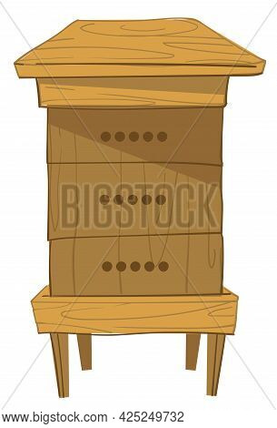 Langstroth Hive Wooden Construction For Bee Cells