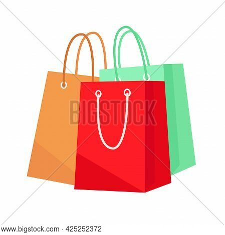 Paper Bag. Eco-friendly Shopping Bags. Paper Bags For Gifts. Set Paper Bag. Gift Wrapping Shopping P