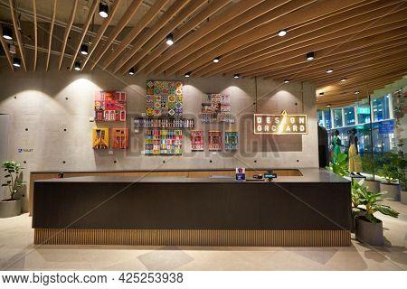 SINGAPORE - CIRCA JANUARY, 2020: interior shot of Design Orchard store in Singapore.