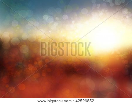 defocused background. summer landscape abstract background