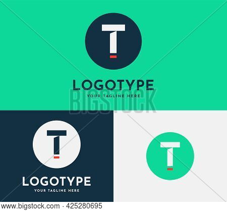 Initial Letter T Modern Logo Design Template. Alphabet T Flat Logotype For Your Business, Corporate,