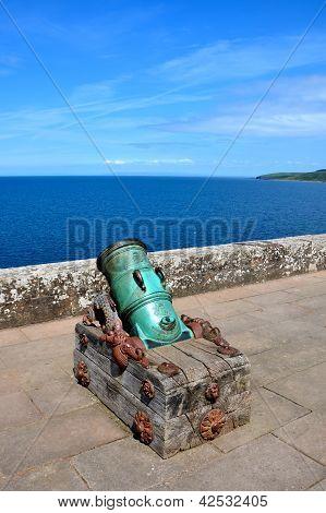 Old cannon, Culzean Castle, Ayrshire