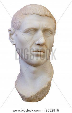 Portrait Of A Roman , 70 B.c.
