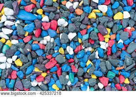 Pebbles Of Different Colors As Background.pebbles Of Different Colors As Background