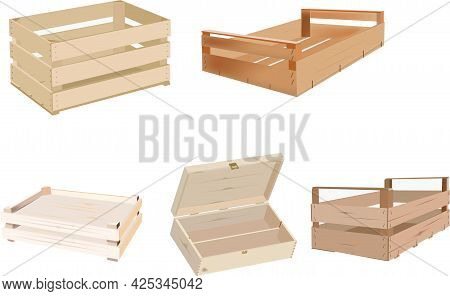 Wooden Crates For Transporting Vegetables Wooden Crates For Transporting Vegetables