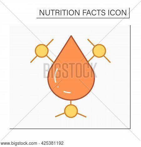 Trans Fat Color Icon. Bad Fats. Trans Fats Content. Macronutrients. Nutrition Facts. Healthy, Balanc