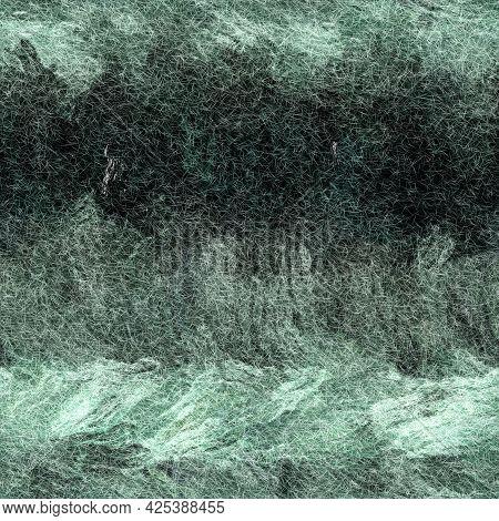 Seamless Textile Mottled Felt Effect Texture. Furry Soft Material Pattern Background. Grunge Rough C