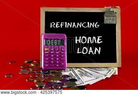Housing Loan Debt Concept