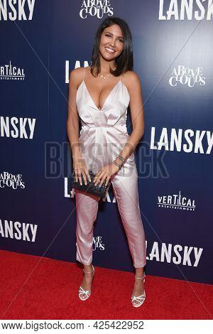 LOS ANGELES - JUN 21: CJ Franco arrives for the 'Lansky'  Hollywood Premiere on June 21, 2021 in Los Angeles, CA