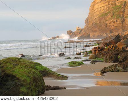 Beautiful Beach Sand Water Sun Fresh Air Breeze
