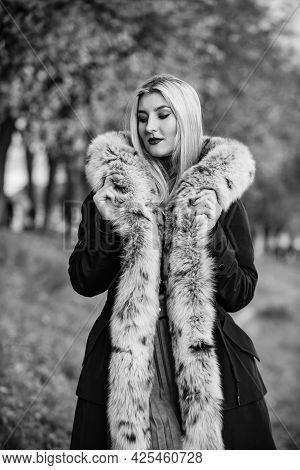 Magic Of Real Fur Truly Saves The Day. Still Trendy Today. Pure Female Beauty. Purchase Real Fur Onl