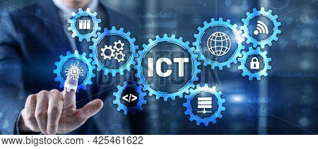 Information And Communications Technology Ict Is An Extensional Term For Information Technology It