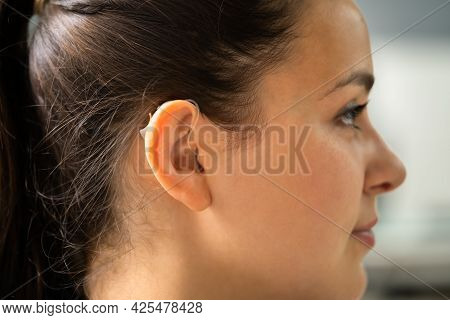 Hearing Aid Deaf Ear Audiology For Handicapped