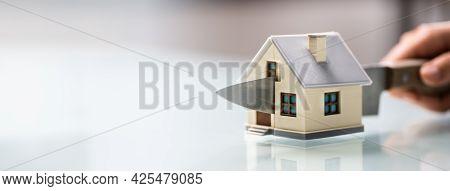 House Property Divided. Divorce And Estate Separation