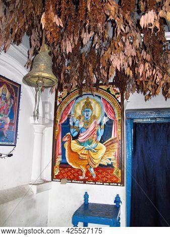 Dambulla, Sri Lanka - 07 Jan 2011: Golden Temple Of Dambulla, Sri Lanka