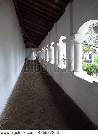Golden Temple Of Dambulla In Sri Lanka