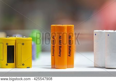 Orange Cell Ni Mh Battery For Industrial Energy Use