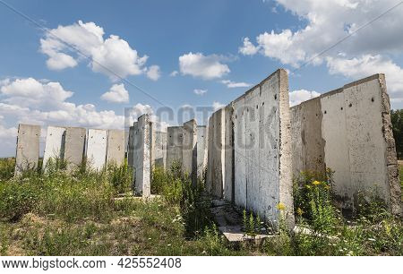 Concrete Slabs In The Field
