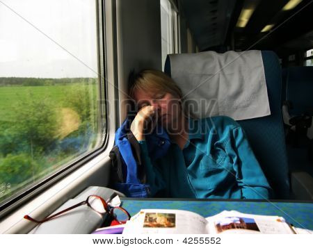 Asleep On The Eurorail