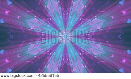 Beams Illuminating Crystal Ornament 4k Uhd 3d Illustration