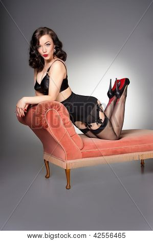 Cute Fifties Pin-up