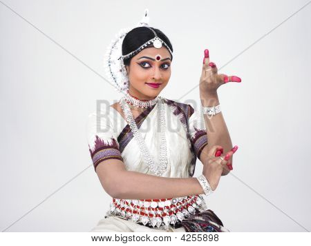 Indian Classical Indian Female Dancer
