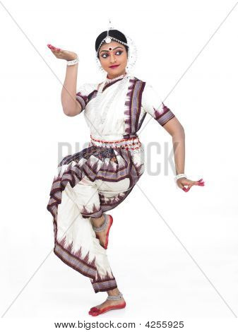 Indian Classical Female Odissi Dancer