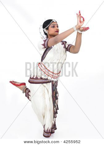 Classical Female Odissi Dancer