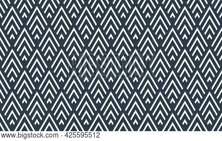 Rhombuses Seamless Geometric Vector Pattern, Rhomb Simple Black And White Wallpaper Background, Regu