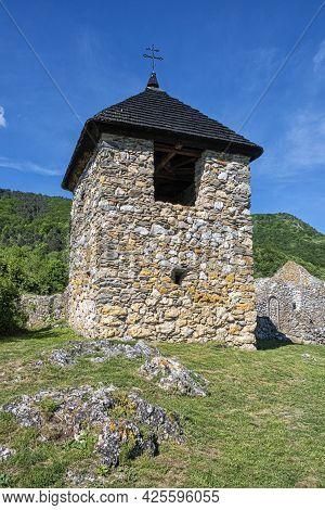 Ruins Of Hussite Church In Lucka Village, Slovak Republic. Religious Architecture. Travel Destinatio