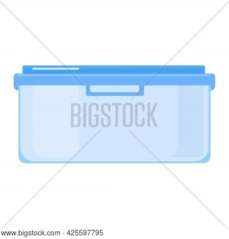 A Container For Carrying And Storing Food. A Plastic Or Glass Container With A Lid.
