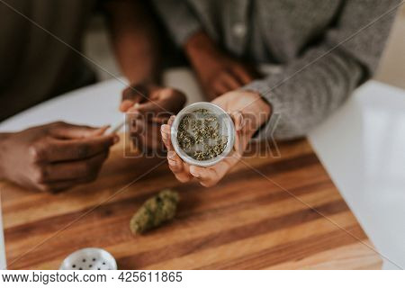 Weed joint and storing container