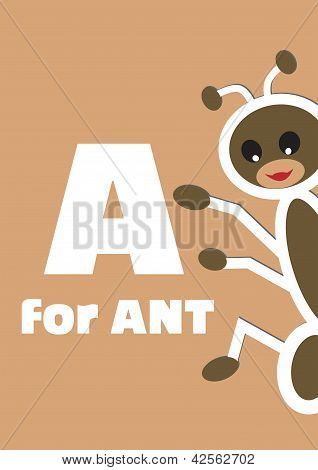 A For The Ant