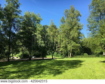 Park At Feldli Cemetery In Saint Gallen (park Auf Dem Friedhof Feldli In Sankt Gallen), St. Gallen -