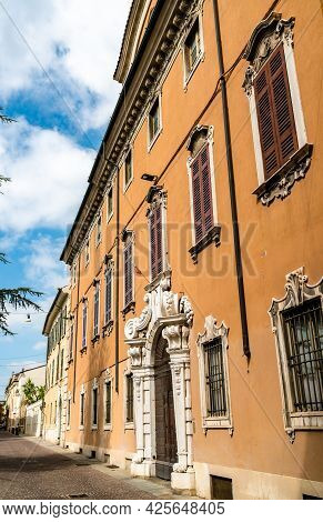Architecture Of Brescia In Lombardy, Northern Italy