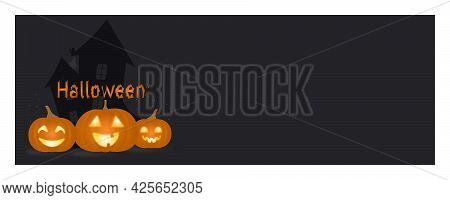Vector Illustration. Holiday Background, Flyer, Banner, Template, Web. Festive Background With Glowi