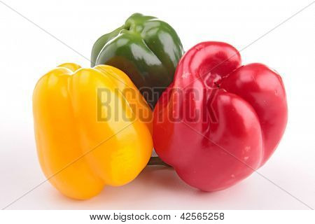isolated bellpepper